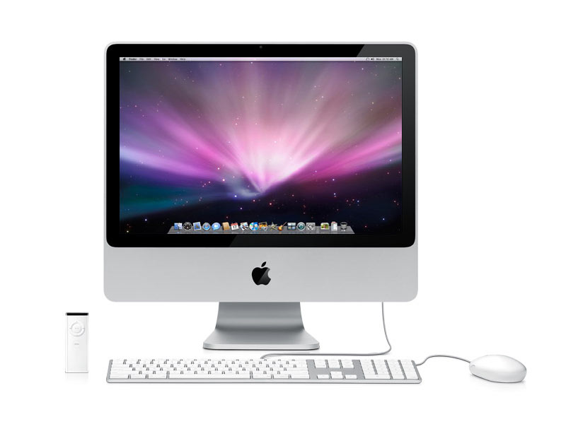 apple imac 20 mc015f b pas cher avis et prix. Black Bedroom Furniture Sets. Home Design Ideas