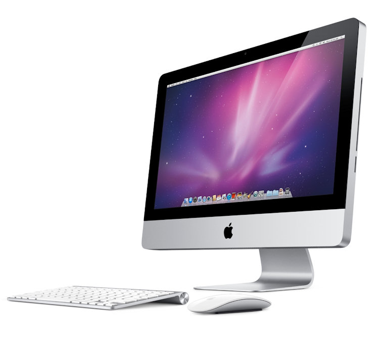 apple imac 21 5 mc309f a pas cher avis et prix. Black Bedroom Furniture Sets. Home Design Ideas