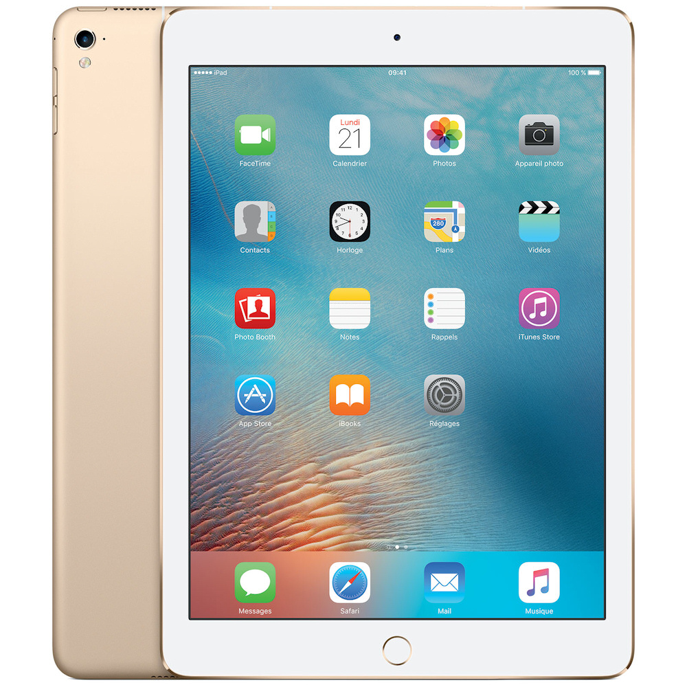 prix APPLE iPad Pro 9.7 32Go Wi-Fi 4G OR 2017 MLPY2NF/A