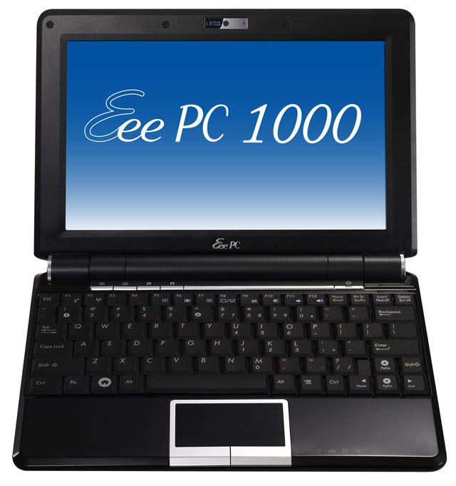 asus eee pc 1000 10 2 39 39 pas cher avis et prix. Black Bedroom Furniture Sets. Home Design Ideas