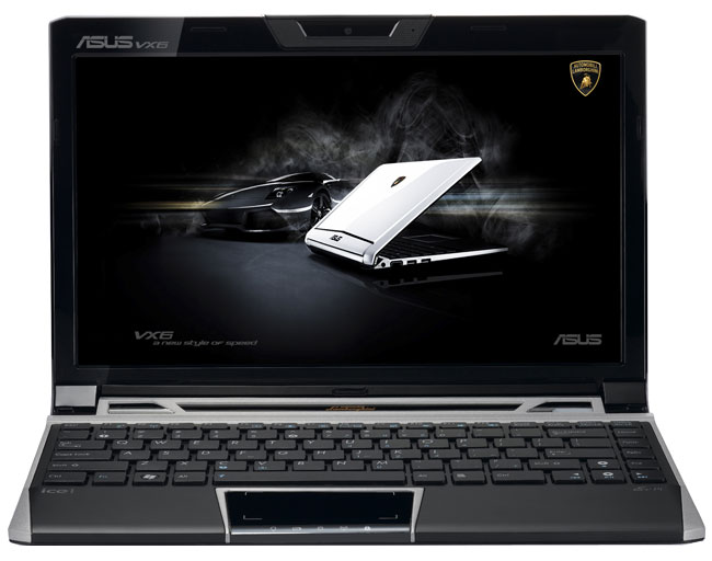 asus lamborghini eee pc vx6 12 1 39 39 pas cher avis et prix. Black Bedroom Furniture Sets. Home Design Ideas