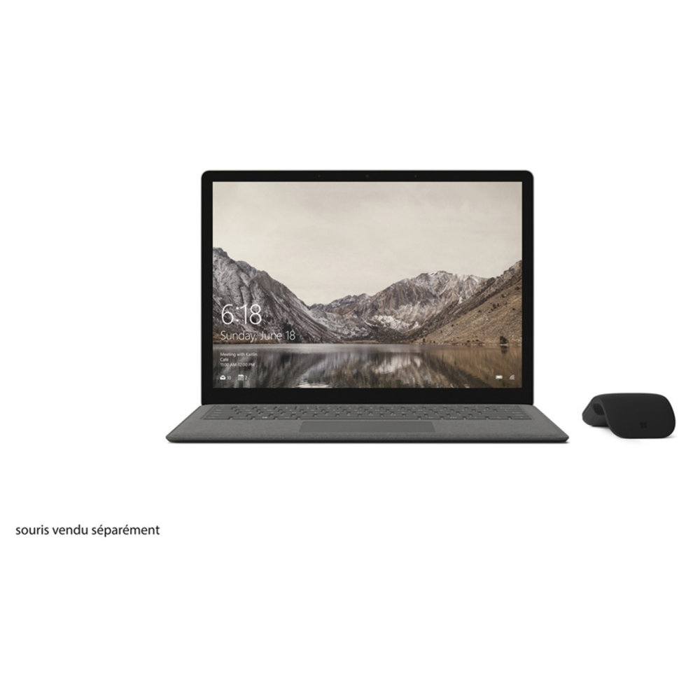 prix MICROSOFT  Surface Laptop Graphite Gold i5 8 Go 256 Go